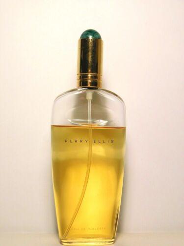 Perry Ellis Eau De Toilette Natural Spray 4.2 oz.80% remain vintage orig formula