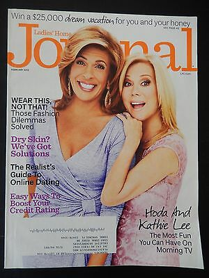 Hoda Kotb And Kathy Lee Gifford   Ladies Home Journal Magazine   February 2013