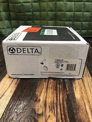 Delta Lahara 1-Handle 1-Spray Shower Faucet Trim Kit in Champagne Bronze