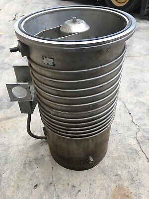 Balzer 320 Diffusion Pump Used Working Condition Email Me For Freight Quote