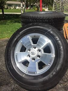Toyota Tacoma Tires and Rims - Brand New