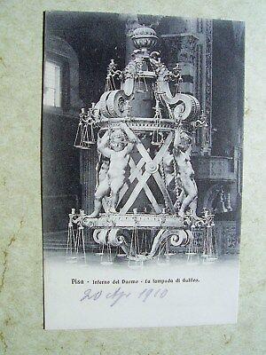 PISA INTERNO DEL DUOMO LA LAMPADA DI GALILEO NGL 1910