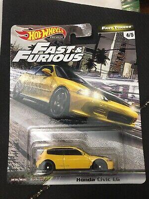 Hot Wheels Honda Civic EG, 2020 Fast & Furious Fast Tuners Series #4/5