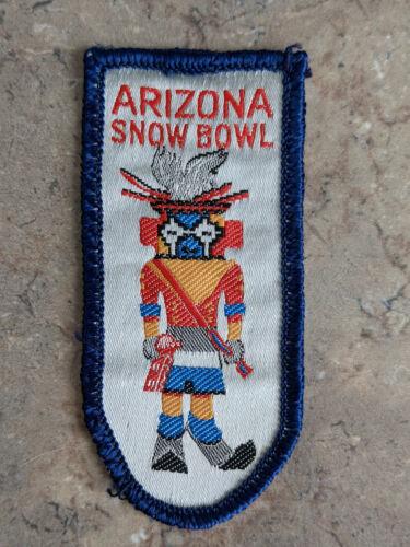 Vintage Arizona SnowBowl Ski Patch Flagstaff, AZ