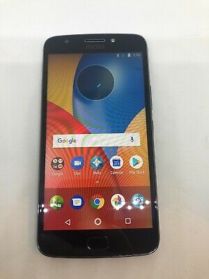 Motorola Moto E (4th Gen) Plus E4+ (XT1775) - Grey - Unlocked - B Condition