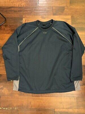 Mens Oakley Sweater Pullover Dark Blue 3XL USED