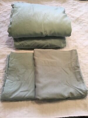Bamboo Sheets by Sleep Philosophy Aqua Cal King Used Twice Great Condition