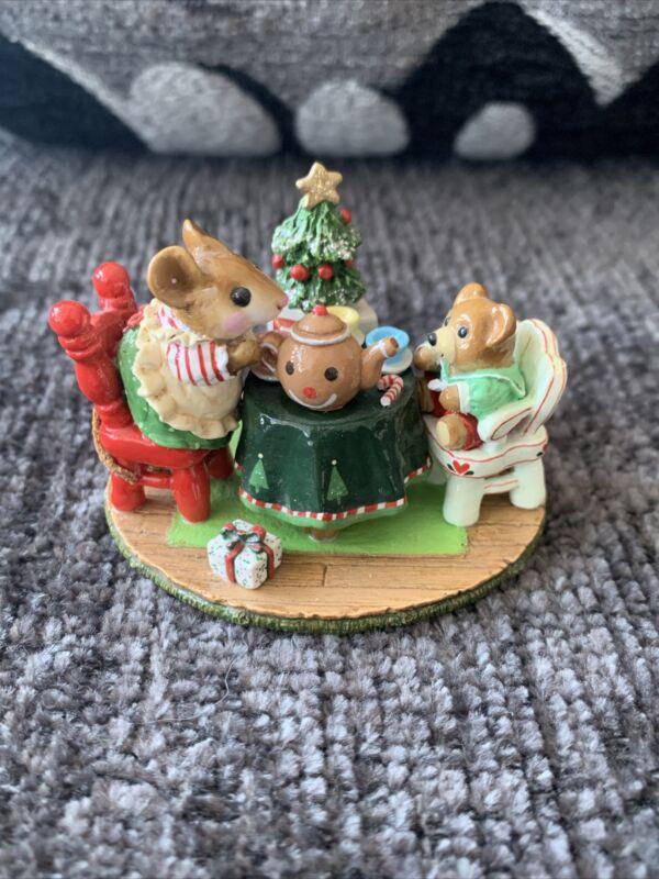 "Wee Forest Folk ""Tea For Three"" Christmas"