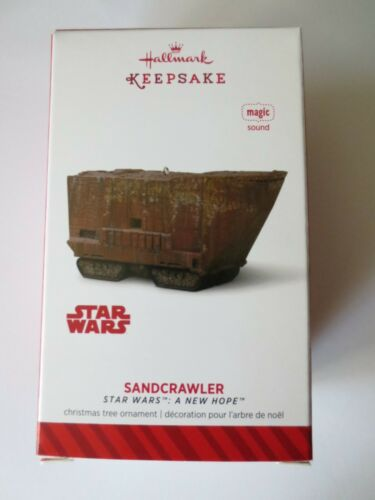 2014 Sandcrawler Hallmark Ornament-Star Wars