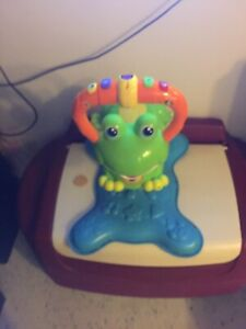 Sit and bounce frog