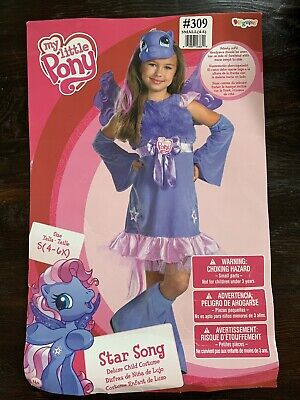 Childrens Halloween Song (My Little Pony Star Song  Fancy Dress Up Halloween Child Costume Small 4-6)
