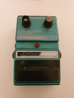 DOD FX25 Envelope Filter Guitar Effect Pedal Auto Wah USA Rare *Untested*