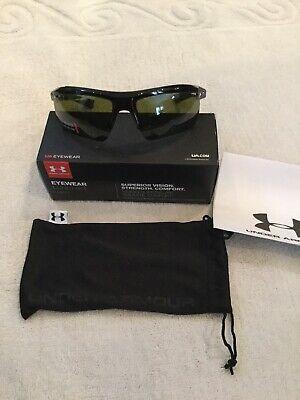 Under Armour UA Core 2.0 Sunglasses - Shiny Black - Soft Case Included (Under Armour Core Sunglasses)