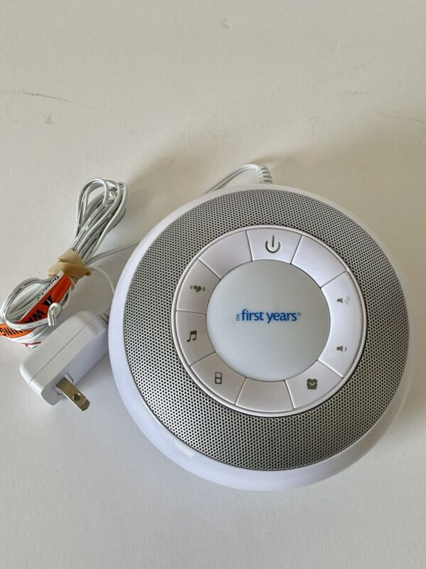 Tomy The First Years Deluxe Nursery Sound Machine MP3 Compatible Y7352-Y7462