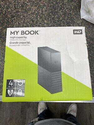 WD my book 4 tb usb 3.0 hard drive