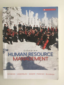 Canadian Human Resource Management - 11th edition