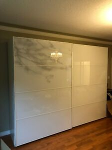 Luxury White Wardrobe (Large)