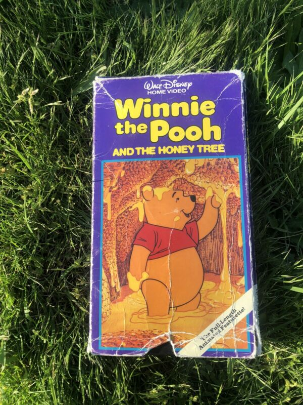 Winnie the Pooh and the Honey Tree VHS
