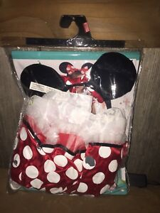 18month - Minnie Costume & Strawberry Costume