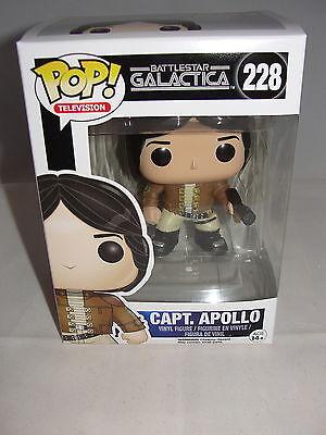 Funko Pop Television Classic Battlestar Galactica Apollo Vinyl Figure-New