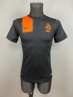 HOLLAND 2012 2013 AWAY SHIRT MATCH ISSUE FOOTBALL SOCCER JERSEY NIKE MENS SIZE S image
