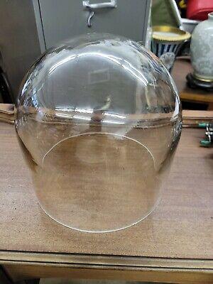 High Vacuum Bell Jar Pyrex Glass 12 X 12