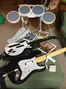 Rock Band & Guitar Hero Accessories and Games