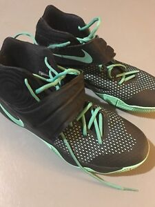 KYRIE 2'S black and teal men's size 12
