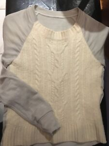 Lululemon St. Mortiz Sweater. Size 6