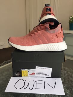 Adidas NMD R2 Raw Pink women's sneakers