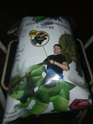 Inflatable Ride on Tyrannosaurus Dinosaur Costume;Unisex; Adult; Waterproof