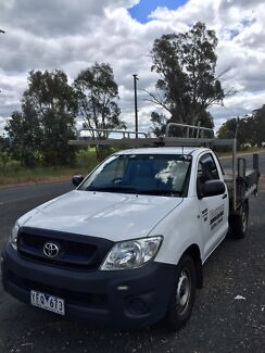 Toyota Hilux 2011 Workmate Ute Many Extras !! Unreg only $8800