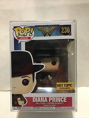 Funko POP! Wonder Woman Diana Prince #230 Hot Topic Exclusive