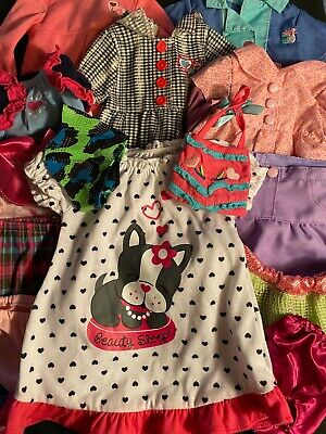 Cute Lot of Doll Clothes For 18