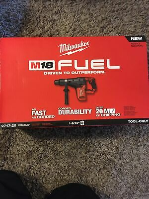 Milwaukee 2717-20 M18 Fuel 1-916 Sds Max Rotary Hammer Bare Tool