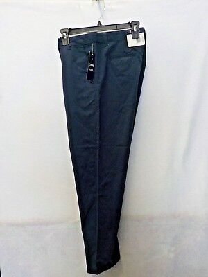 Boys Size 18 Husky Chaps Navy Moisture Wicking Uniform Pant New Nwt  #12622
