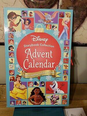 NEW Disney Princesses Storybook Collection Advent Calendar 24 Christmas