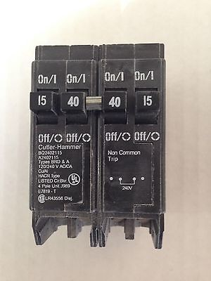 Cutler-hammer Bq2402115 Circuit Breaker. New Never Installed In Box.