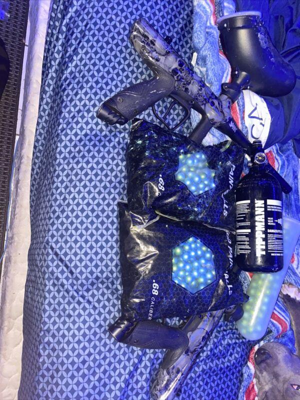paintball gun package