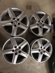 Set of 4 Audi 5x112 17inch rims