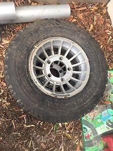 Cheviot 4wd rims and tyres Peregian Beach Noosa Area Preview