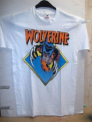 Vintage T-Shirt: Wolverine Attacks (by Frank Miller) (XL) (USA, 1988)