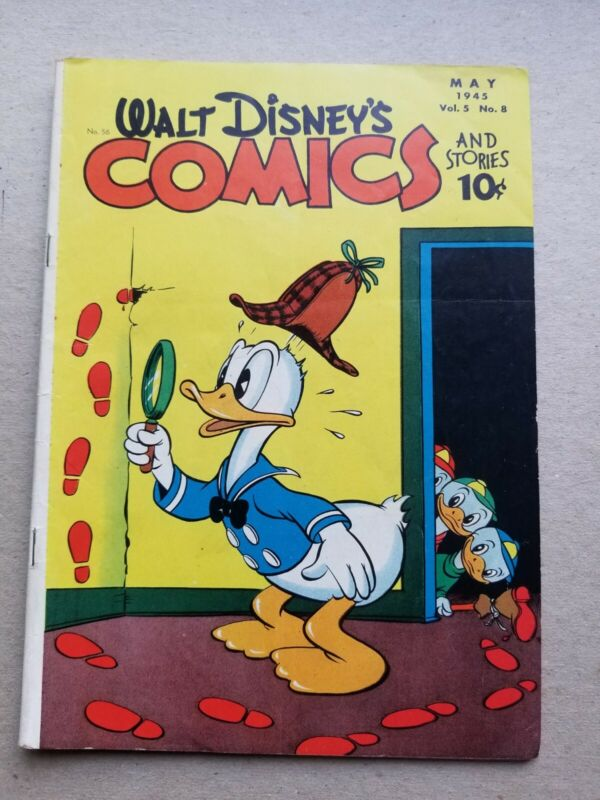 Walt Disney Comics And Stories 56, approximately VG+