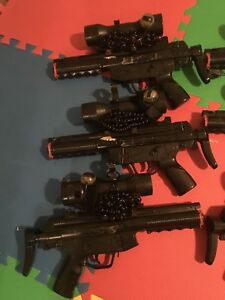 15 Laser Tag Guns and 22 Inflatable Bunkers