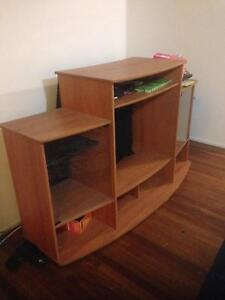 Wooden TV unit Beenleigh Logan Area Preview