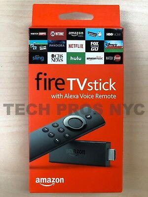 NEW Amazon Fire TV Stick (2nd Generation) with Alexa Voice Remote Media Streamer