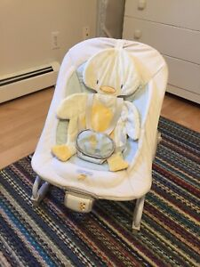 Bright Starts vibrating baby chair