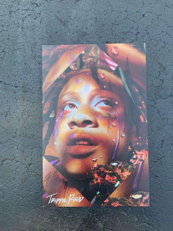 Trippie Redd Autographed Poster