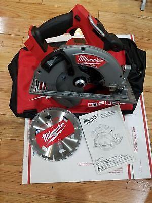 Milwaukee M18 Fuel 18-volt Cordless 7-14 Circular Saw 18v 2732-20 Bag