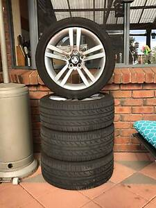 """Holden Commodore VE Stock 18"""" Alloy Wheels + Spare Tyre Hallett Cove Marion Area Preview"""